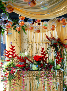 unique wedding decorations